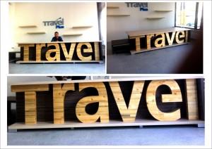 Debitare lemn Travel Plus